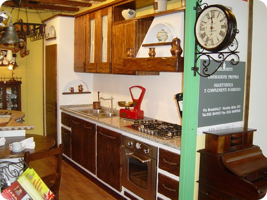 Beautiful cucine finta muratura economiche images - Piccola cucina in muratura ...